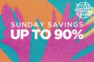 Sunday Savings