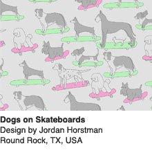 Dogs on Skateboards