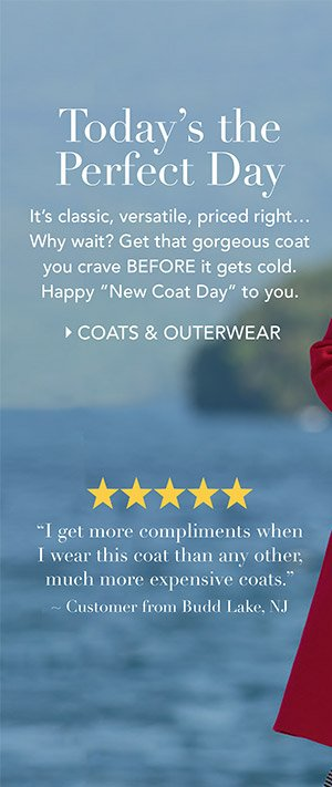 Coats, Jackets and Outerwear