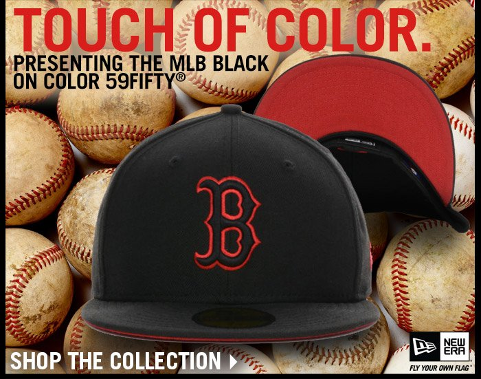 Touch of Color - Shop the Black on Color Collection