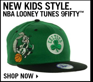 Shop New Kids NBA Looney Tunes 9FIFTY Collection