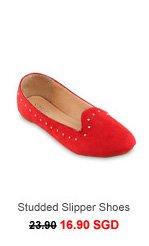 SPURR DAL Studded Slipper Shoes