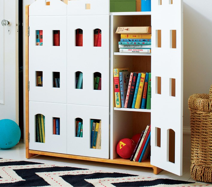 New collection of bookcases.