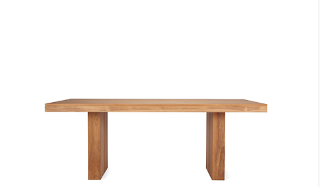 KAYU TEAK DINING TABLE