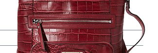 Shop Franco Sarto Dixon Croco Crossbody