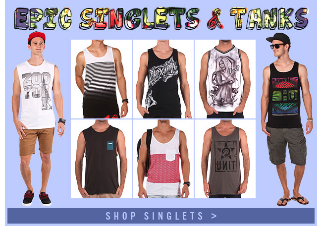 Mens Dressses And Singlets