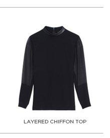 Layered Chiffon Top