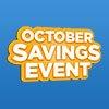 October savings event