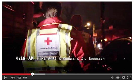 Video: House fire response, Brooklyn NY
