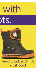kids' crocband™ gust boot
