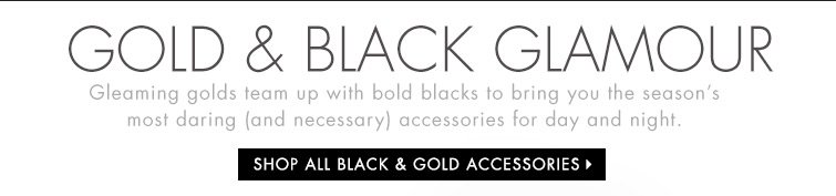 Shop All Black and Gold Accessories
