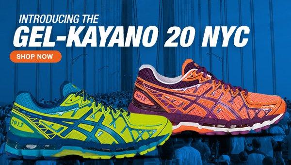 Shop the GEL-Kayano 20 NYC - Hero