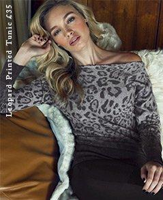 Leopard Printed Tunic