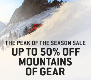 Up to 50% Off Mountains of Gear
