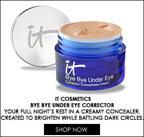 "Say ""bye bye"" to under eye circles with this new concealer from IT Cosmetics!"