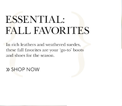 Essential Fall Favorites | Shop Now