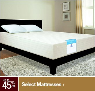 Extra 45% off Select Mattresses