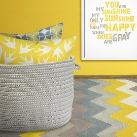 Gray & Yellow: Decor & Textiles