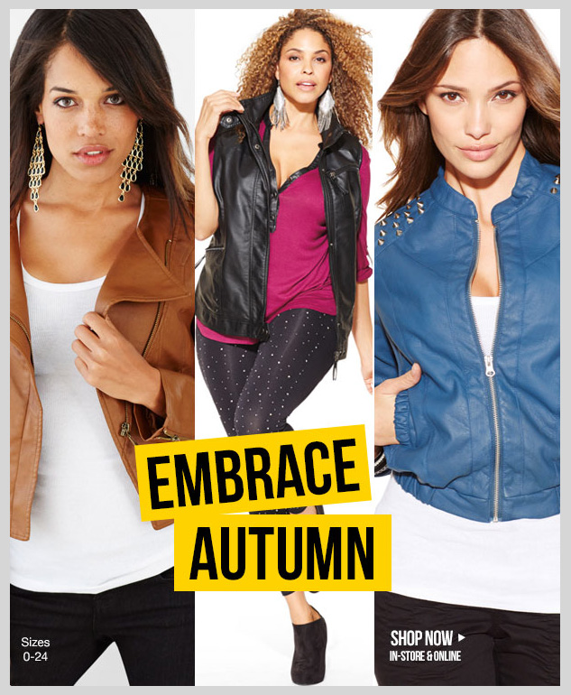Outerwear! Check out the latest styles of Fall jackets at dots! In-stores and online! SHOP NOW!