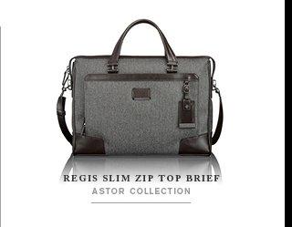 Regis Slim Zip Top Brief - Shop Now