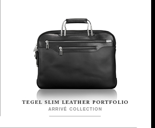 Tegel Slim Leather Portfolio - Shop Now