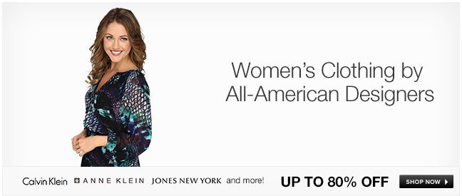 Women's Clothing by All American Designers