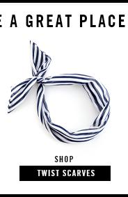 shop twist scarves