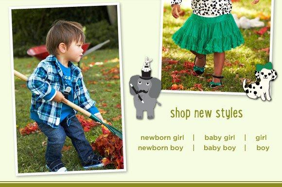 Shop New Styles.