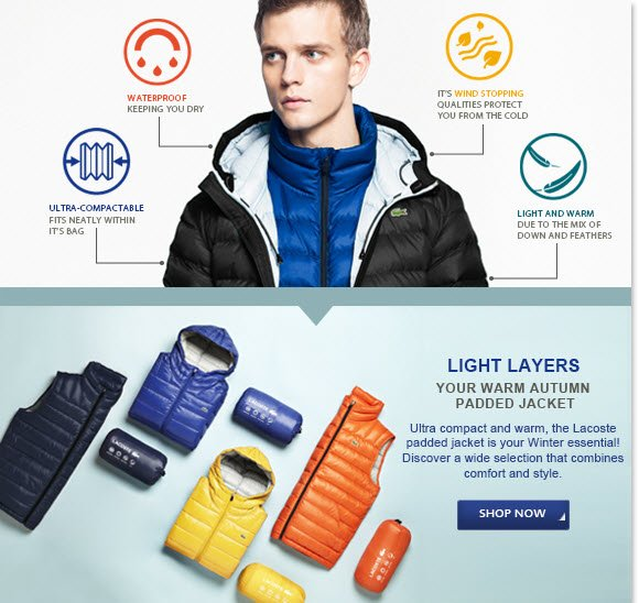LIGHT LAYERS - YOUR WARM AUTUMN PADDED  JACKET