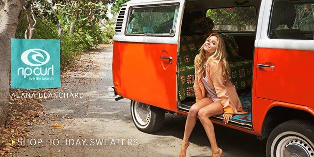 Rip Curl - Alana Blanchard - Shop Holiday Sweaters
