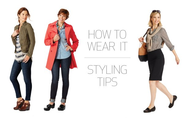 Styling tips for how to wear the season's latest styles.