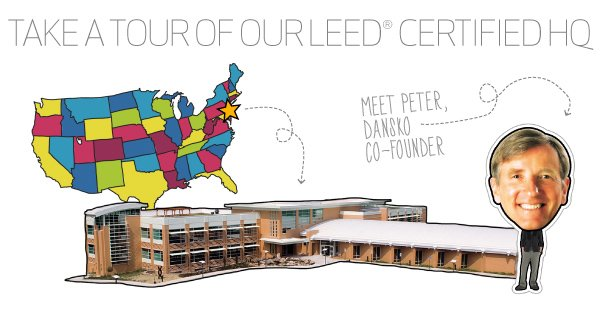 Take a guided tour of our Leed certified headquarters with Peter, Dansko co-founder.