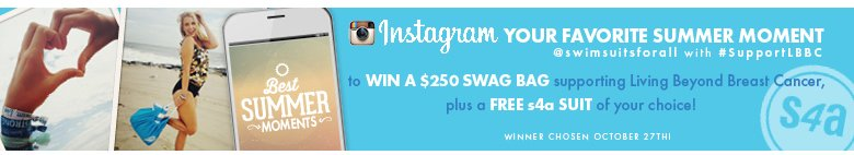 Instagram Your Favorite Summer Moment to WIN a $250 swag bag