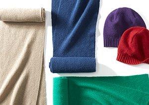 The Cashmere Shop: Hats & Scarves by Portolano