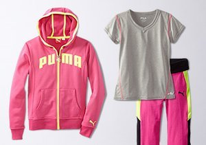 The Athletic Shop: Styles for Girls