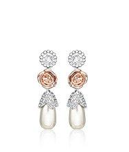 R&J Pearls Pierced Earrings