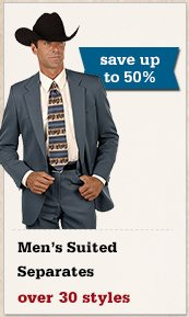 All Mens Suited Separates on Sale