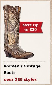 All Womens Vintage Boots on Sale