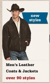All Mens Leather Coats and Jackets on Sale
