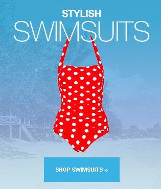 Shop Stylish Swimsuits