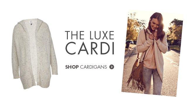 The Luxe Cardi