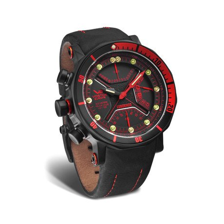Lunokhod 2 Chronograph Multi-Function Diver // Red