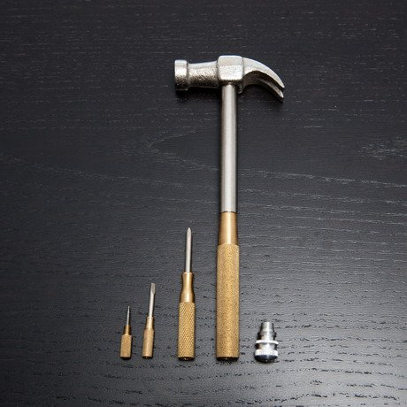 6-in-1 Combination Hammer + Phillips // Nickel Plated