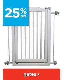 25% off gates