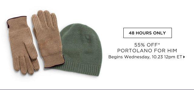55% Off* Portolano For Him...Shop Now