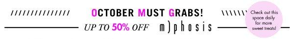 OMG m)phosis sale up to 50% off