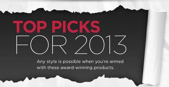 Paul Mitchell(r). Top Picks for 2013. Any style is possible when you're armed with these award-winning products.