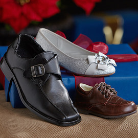 Festive Finery: Kids' Shoes