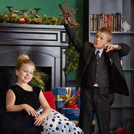 Festive Finery: Tween Kids