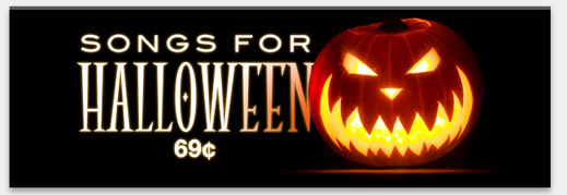 Songs for Halloween: 69¢